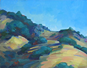 Hillside Roll by Keene Wilson Oil ~ 8 x 10