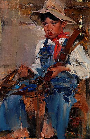 nicolai fechin u0026 39 s painting technique