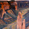 Monsoon Over Canyon de Chelly