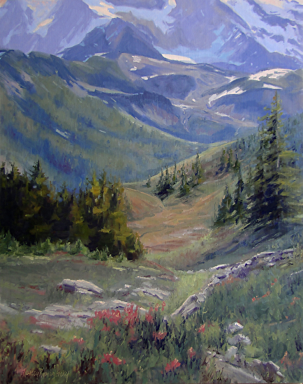 Tranquil Valley - Oil