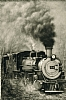 Engine 484 by Charles Ewing Giclee Print on Canvas ~ 30 x 20