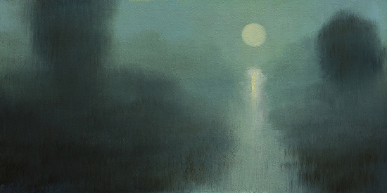 Low Country Nocturne - Oil