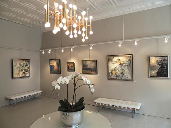Opening - Holmes Solo Exh. - Kelli Kaufman Gallery -