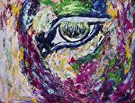 "inner truth by Deborah Argyropoulos Acrylic ~ 36"" x 48"""