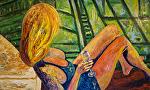 """A New Beginning 36""""x60 by Deborah Argyropoulos Oil ~  x"""