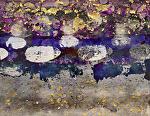 spring frost  by Deborah Argyropoulos Mixed Media ~  x