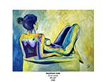 daydream nude by Deborah Argyropoulos Oil ~  x