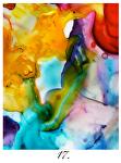 """chimera 17 tn by Deborah Argyropoulos Watercolor ~ 24"""" x 30'"""
