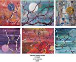 harvest moon series by Deborah Argyropoulos Oil ~  x