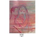 silent tears by Deborah Argyropoulos Oil ~  x