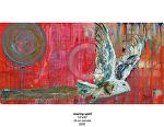 soaring spirit by Deborah Argyropoulos Oil ~  x