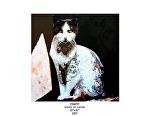 """chaplin by Deborah Argyropoulos Acrylic ~ 36"""" x 36"""""""