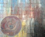 "desert rain by Deborah Argyropoulos  ~ 60"" x 72"""