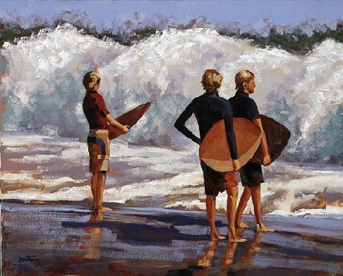 Meet Me at the Wedge - Oil