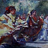 Traditional Dance by Michael Maczuga Oil ~ 30 x 40
