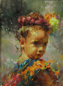 Attitude by Michael Maczuga Oil ~ 12 x 9