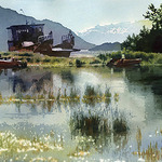 Mark McDermott - Red River Watercolor Society's 28th Annual National Juried Watermedia Exhibition
