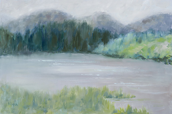 Evergreen Lake, - Oil