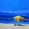 Yellow at Buccaneer Beach (Private Collection)