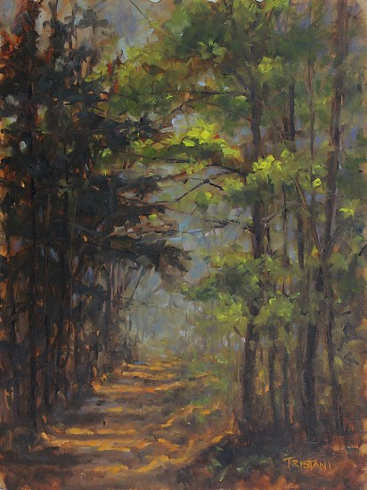 Deep in the Woods - Oil