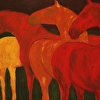 Autumnal Horses