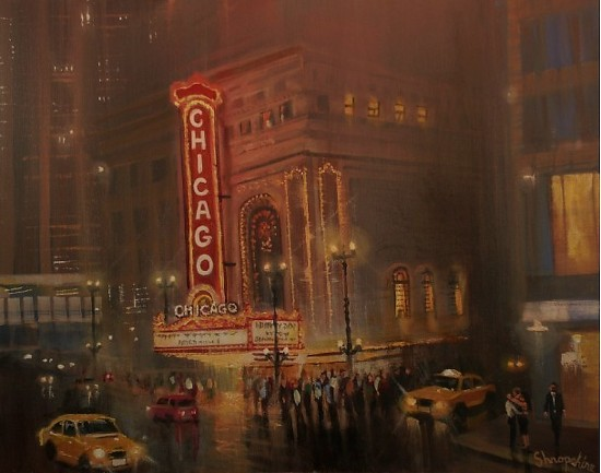 Chicago Theater - Acrylic