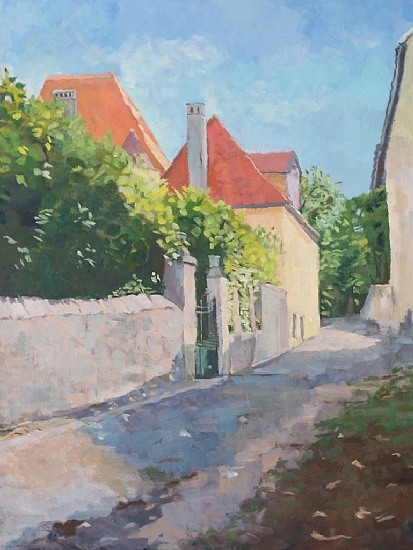 Road To St. Remy - Oil