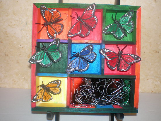 Butterflies In Motion - Acrylic