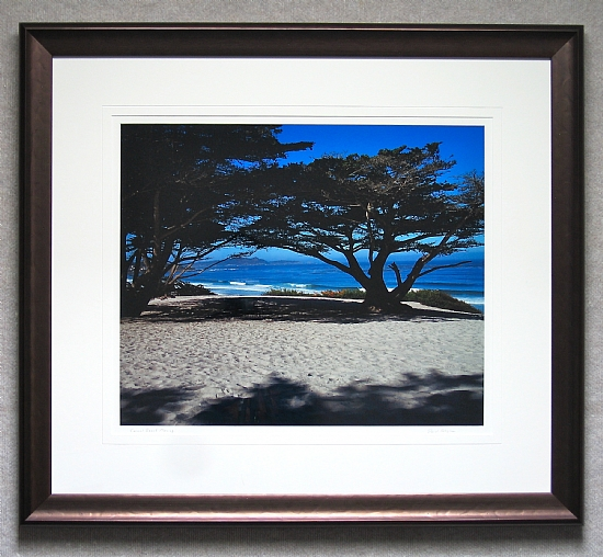 Bronze Frame by Gallery Sur Photography of Big Sur, Carmel, Pebble Beach  ~  x