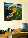 Pebble Beach 8th Hole by Joann Dost by Gallery Sur Photography of Big Sur, Carmel, Pebble Beach  ~ 35x x 45
