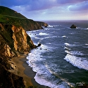 Big Sur Coast by Helmut Horn Photograph ~  x