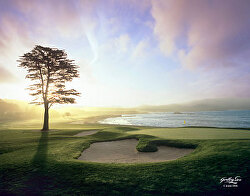 "Joann Dost ""Pebble Beach 18th Green"" Raffle Prize"