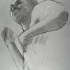 """Drawing for the Sculpture """"Golden Boy"""""""