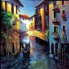 DAYBREAK VENICE by Nancy O'Toole  ~ 8 1/2 x 8 1/2