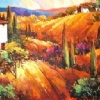 "Tuscan Light by Nancy O'Toole Acrylic ~ 24"" x 48"""
