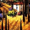 "HILLS of  TUSCANY by Nancy O'Toole  ~ 24"" x 12"""
