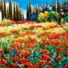 Tuscan Dreaming by Nancy O'Toole Acrylic ~ 24 x 48'