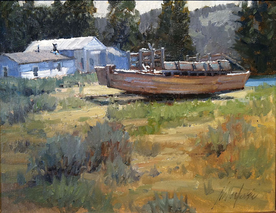 Menor's Ferry - Oil