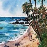 Lisa Fu - Impressionism Watercolor Demonstration