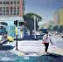 Lady on the Sidewalk by Nina Fabunmi
