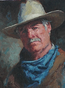 Paul by Jim Clements Oil ~ 8 x 6