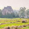 Summer Morning Chateau Pitray