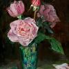 Carnival Glass Roses