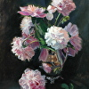 Peonies with Silver Reflections