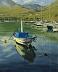 Fishing Boat Morning by Sandra Corpora