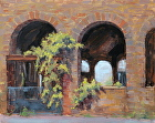 Morning Vine by Sandra Corpora Oil ~ 8 x 10