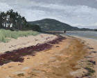Rathmullan Beach, Donegal by Sandra Corpora Oil ~ 8 x 10