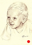 Lawson by Marie Merritt Pencil ~ 10 x 8