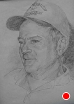 D. Shepperd by Marie Merritt Pencil ~ 14 x 11