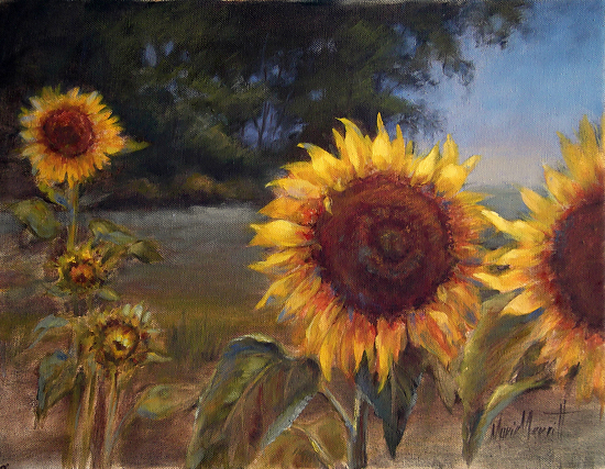 Sunflowers 2 - Oil
